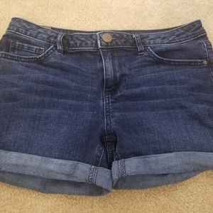 Womens LC Lauren Conrad Denim Shorts Size 6